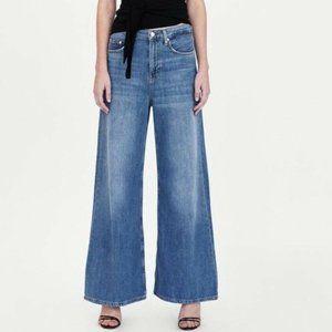 Zara Womens Vintage High Waist Flare Jeans size 10